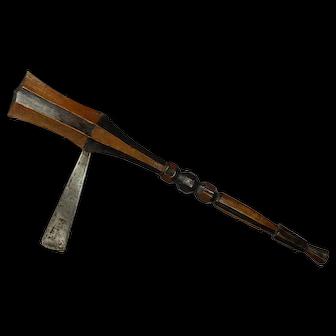 very early Mangbetu prestige axe