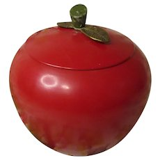 Another Big Red Apple Cookie Jar