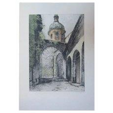 St. Peter's Gate. [Austria.] by Josef Eidenberger