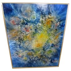 "John R.Jurisich""Father of Prismatics""Abstract/Contemporary Fine Art,oil/canvas!"