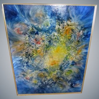 "John R.Jurisich""Father of Prismatics""Abstract/Contemporary Fine Art,oil/canvas!"