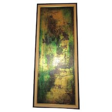 William David Cogland 1936-1962 Atlanta, Georgia abstract artist,Oil