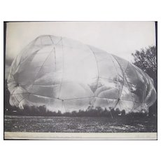 Christo and Jeanne-Claude Cubic Feet Empaquetages - Original Photolithograph - 1971 ca.