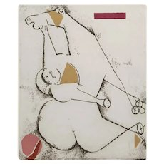 Original Etching by M. Marini
