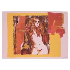 Crazy Horse No.7 - Front View of Nude Female by Nicola Simbari 1976