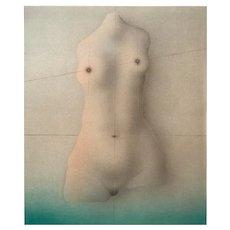 "Les Femmes ('The Women""), Original Litograph by Paul Wunderlich 1977"