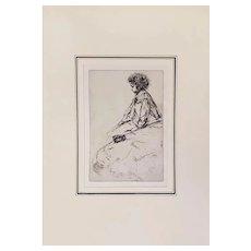 Bibi Lalouette by James Abbott McNeill Whistler