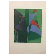 Imagination - Original Lithograph by Marino Marini - 1966
