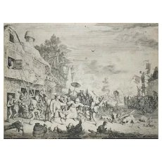 The Kermesse by Cornelius Dusart