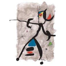 Constellation III, Original Litograph by Joan Miró, 1975