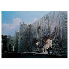 Christo and Jeanne-Claude, The Wall - Wrapped Roman Wall 1973-1974