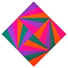 Untitled - Color Diamond - Max Bill - Serigraph