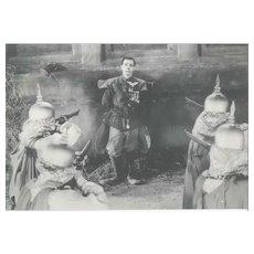 The sad mask of Buster Keaton - Original Vintage Photo - 1930s