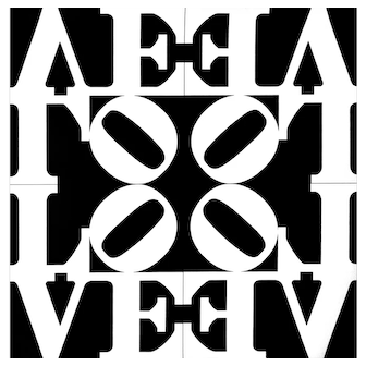 Love Rising, an original affiche offset by Robert Indiana printed by VBK, Wien, 2010