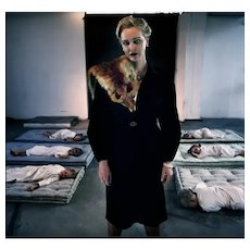Magda Goebbels - Original Limited Edition Photograph by Angelo Cricchi 2009