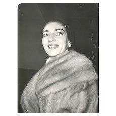 The Divine - Vintage Original Photograph of Maria Callas - End of 1960s