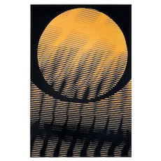 The Sunset - Original Lithography on Paper by Roberto Papini - 1970s