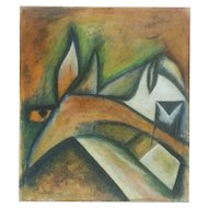 Horse Head - Oil Painting 2015 by Giorgio Lo Fermo