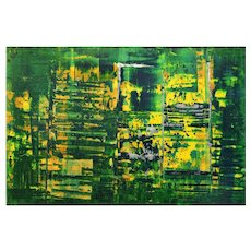 Original Abstract Painting by Li Lei