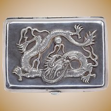 Chinese Silver Good Luck Box from the early XX cent