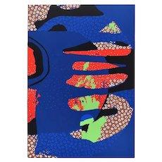 Untitled - Original Screen Print by Wladimiro Tullio - 1970s