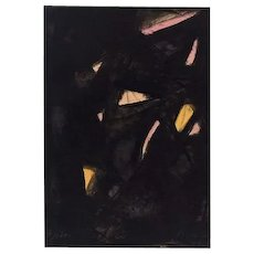 Untitled Composition - Original Lithograph by Primo Conti - 1973