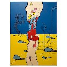 Original Acrylic Painting by J. Carruna