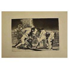 Complete collection of Los Proverbios by Francisco José de Goya y Lucientes