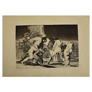 Complete collection of Los Proverbios by Goya