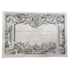 Prospectuum Aedium Viarumque Insignorum Ubis Venetiarum by Giovanni Battista Brustolon