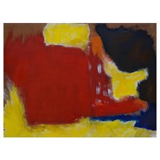 Untitled - Informal Paiting - Oil Paintingby Giorgio Lo Fermo 2015