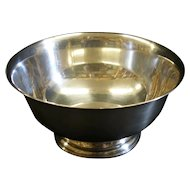 """NEWPORT Sterling Silver Paul Revere Reproduction Bowl 6"""" x 3""""  Excellent, 220 Grams"""