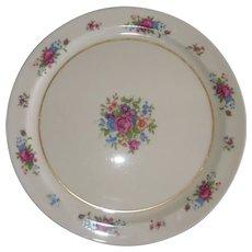 "Lenox Rose J-300 ~13"" Porcelain China Chopping Platter Plate Tray"