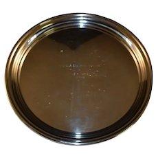 "Randahl Sterling Silver 12""+ Serving Tray Platter Dish Plate Heavyweight"