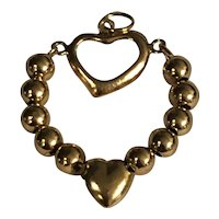 14K Heart Pendant or Charm