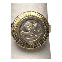 925 Dos Pesos Panda Ring