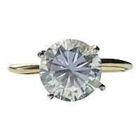 14kt Yellow Gold CZ Ring