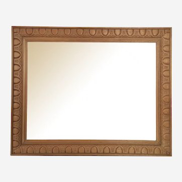 Vintage frame for Painting, drawing or etching, mid century Carved Wood