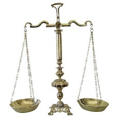 Scales Of Justice Antique Balance Scales 19th Century French Furniture Lawyer Gift