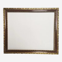 Ornate Picture Gilted Frame Carved Wood vintage Frame