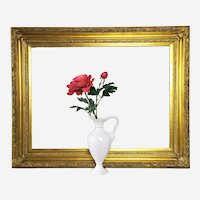 Gilted Frame Empire style for Painting 20th century Carved Wood
