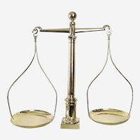 Scales of Justice - Antique Balance Scales -19th Century - Lawyer Gift Kitchen Décor