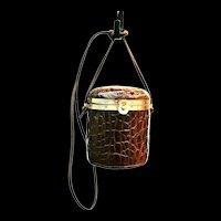 Vintage Sorpresa Italian Leather Handbag/Purse
