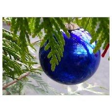 Antique Holiday Christmas Tree Ornament German Kugel