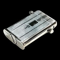 Vintage Collectible Swiss Thorens Petrol Cigarette Lighter