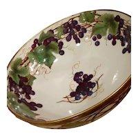 Antique Limoges Punch Bowl French Porcelain