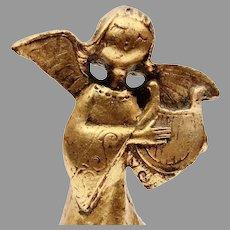 Reuge Rotating  Gilded Angel Music Box