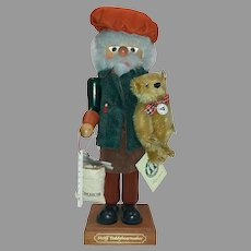 Steiff Christian Ukbricht Joint Issue Nutcracker teddybearmaker Limited Edition