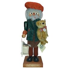 Steiff Christian Ukbricht Joint Issue Nutcracker teddybearmaker Limited Edition