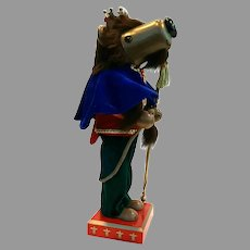 Rare Lord and Taylor Signature King Lion Nutcracker